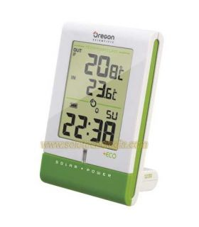 Oregon Scientific RMR331 IS Thermometer wireless with solar