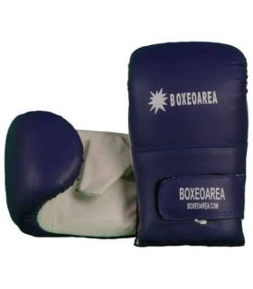 Gloves Boxing punch Bag 202 Blue BoxeoArea Gloves boxing punch bag Boxing Sizes: m, l; Color: blue