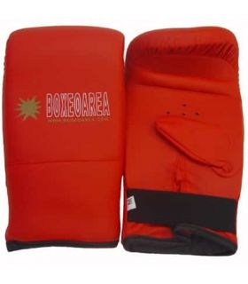 Gloves Boxing punch Bag 1809 Red BoxeoArea Gloves boxing punch bag Boxing Size: l; Color: red
